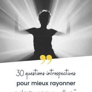 workbook, 30 questions pour mieux rayonner
