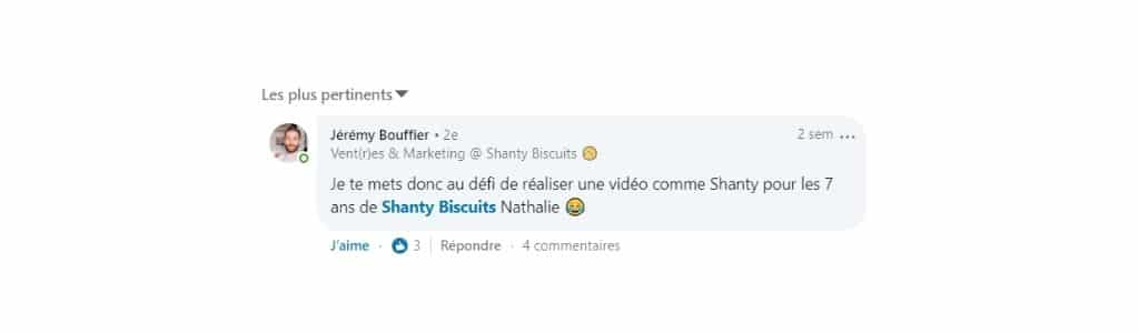 commentaire shanty