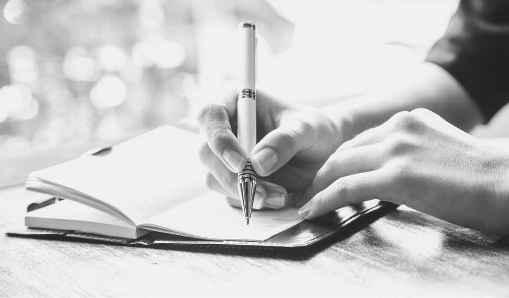 écrire, journal, journaling