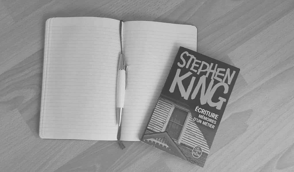 stephen king, écrire